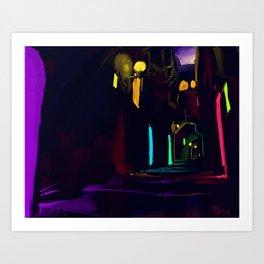 The Passage way Art Print