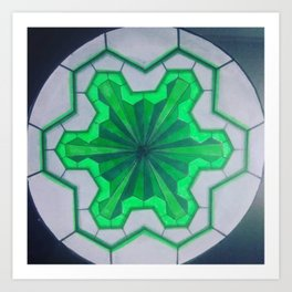 sacred geometry ZB Art Print