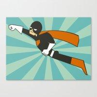 superheroes Canvas Prints featuring Superheroes! by EloisaD