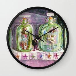 Freak Show Wall Clock