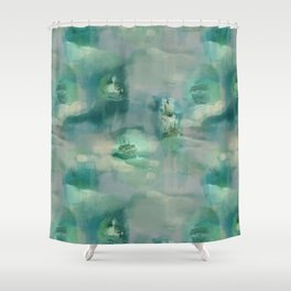 Ghostly Galleons by Katrina Ward Shower Curtain