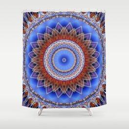 Mandala bonding Shower Curtain