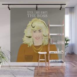 Who's the Boss? - Angela Wall Mural