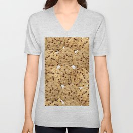 Homemade Chocolate Chip Cookies Unisex V-Neck