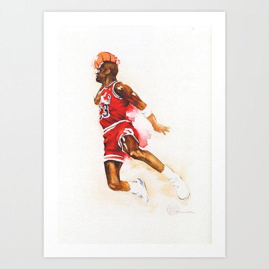 Jordan dunk Art Print