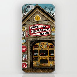 dmb2019 Juni 19th, 2019 Bethel Woods Center for the Arts Bethel, NY iPhone Skin