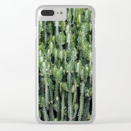 Candelabra Cactus Tree Clear iPhone Case