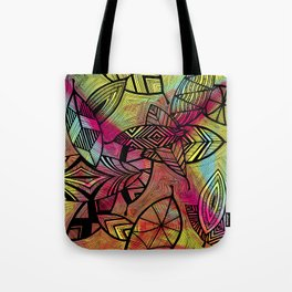 Crazy Leaves  Tote Bag