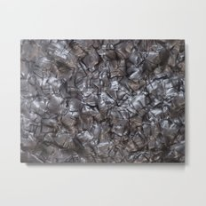 Artificial Nacre Metal Print