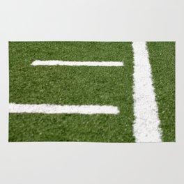 Football Lines Rug