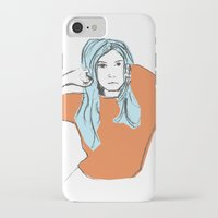 sweater iPhone & iPod Cases featuring Sweater Weather by Kelly Lindstrom