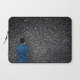 solve mathematics equations Laptop Sleeve