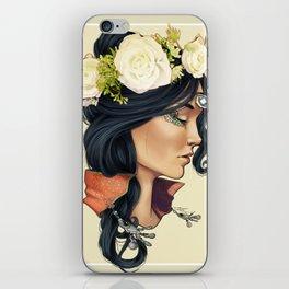 Bohemian Girl iPhone Skin