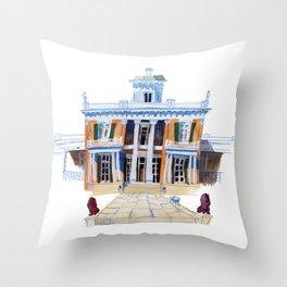 Belmont Mansion / Nashville, Tennessee Fine Art Print Throw Pillow
