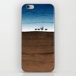 Life in the desert iPhone Skin