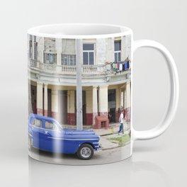 Havana Cuba Cuban Vintage Car Architecture Vedado Urban Street Photography Coffee Mug