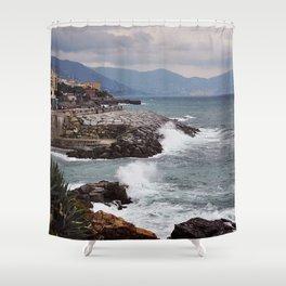 Genoa, Italy Shower Curtain