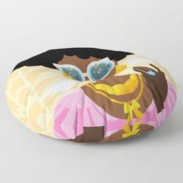 Afro Puffs Floor Pillow