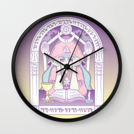 current 93 - purple Wall Clock