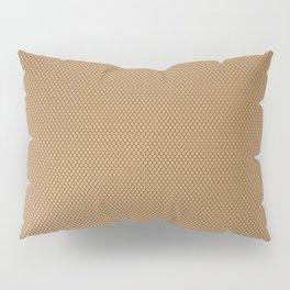 Nylon Stocking Mesh Grid Pillow Sham