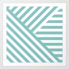 Tiffany Geometric Art Print