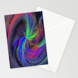 photon weave Stationery Cards