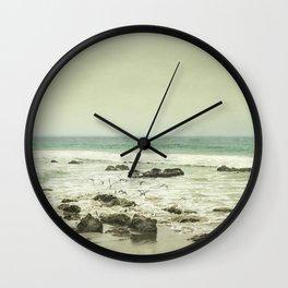 Release - California Coast Beach Modern Home Decor Wall Clock