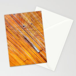 Wood lines Stationery Cards