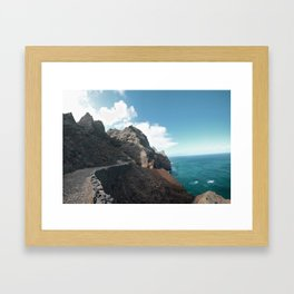 Punta do Sol Framed Art Print