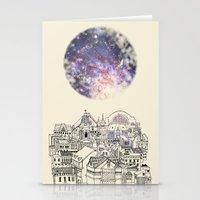 cincinnati Stationery Cards featuring Cincinnati Fairy Tale by Signe