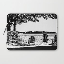 Weekend At The Cottage Laptop Sleeve