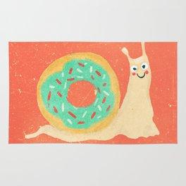 Donut snail Rug
