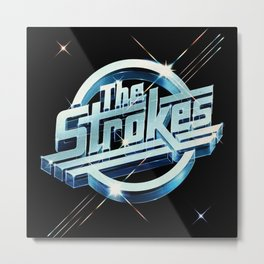 the strokes star tour 2020 kentut Metal Print
