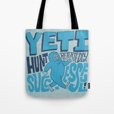 Successful Yeti Hunt Tote Bag
