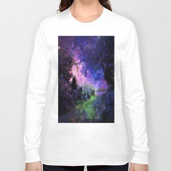 Fantasy Path Night Long Sleeve T-shirt