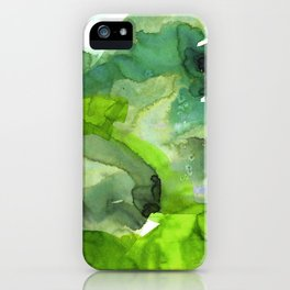 Vellum Watercolor Bliss 3B by Kathy Morton Stanion iPhone Case