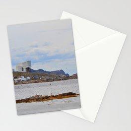 fishing village on Fogo Isl, NL Stationery Cards