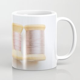 Pastel Spools of Vintage Thread Coffee Mug