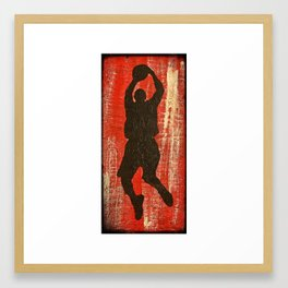 Hoop Dreams 1 Framed Art Print