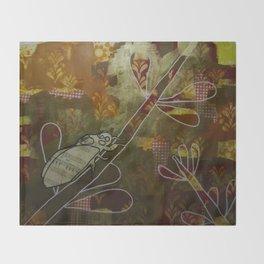 Cicada Music Throw Blanket
