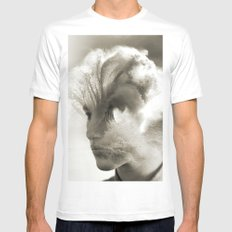 Head Wave White MEDIUM Mens Fitted Tee