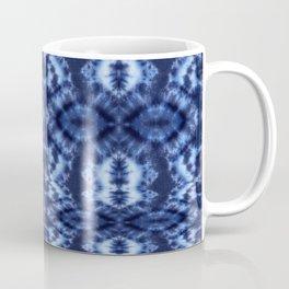 Topanga Tie-Dye Blue Coffee Mug