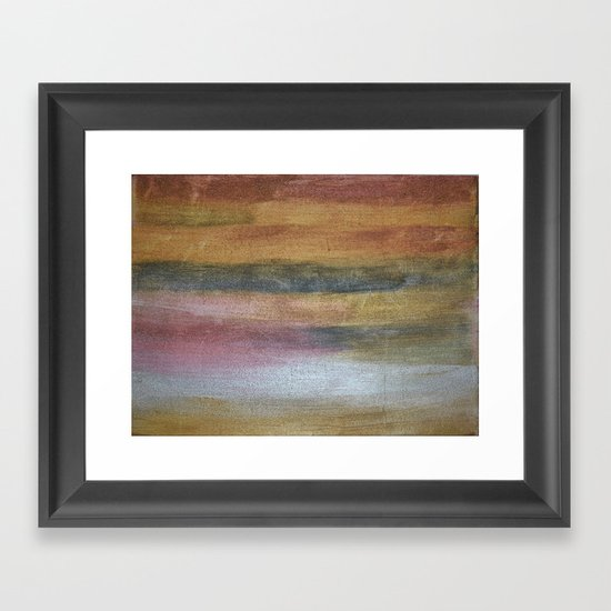 Color plate - rusty Framed Art Print
