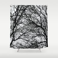 anxiety Shower Curtains featuring Anxiety by Mind-off