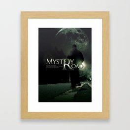 Mystery Road Framed Art Print