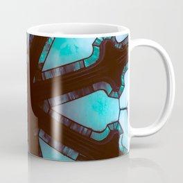 Stained Wheel Coffee Mug