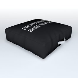 The Professional Binge Watcher Outdoor Floor Cushion