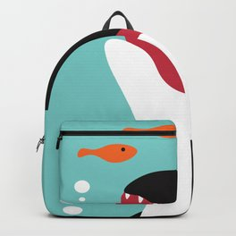 Smiley Whale Backpack