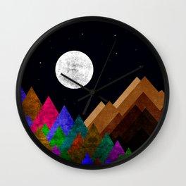 Fabulous Night Wall Clock