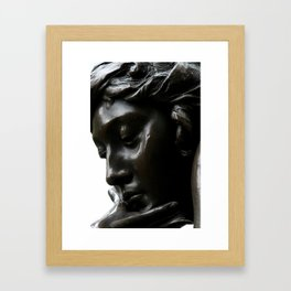 Isidor and Ida Straus Memorial Framed Art Print